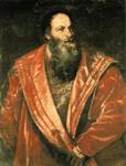 Pietro ARETINO, Tizian, 1545. Firenca, Palazzo Pitti