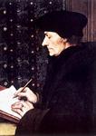 Erazmo ROTERDAMSKI, rad Hans Holbeina ml., Louvre, Pariz