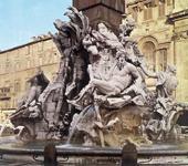 Gian Lorenzo BERNINI, Fontana četiriju rijeka, Piazza Navona, Rim