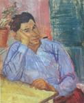 Ignjat JOB, Autoportret, 1931., Galerija umjetnina Branko Dešković, Bol