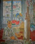 Joza KLJAKOVIĆ, Autoportret, 1952, Memorijalna zbirka Jozo Kljaković, Zagreb