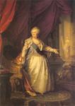 Katarina II. Velika, rad Johanna Baptista Lampia starijeg, 1793., Ermitaž, St. Petersburg