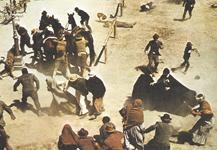 Sam PECKINPAH, prizor iz filma Divlja horda, 1969., redatelj: Sam Peckinpah