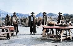 Sergio LEONE, prizor iz filma Bilo jednom na Divljem zapadu, 1968., redatelj: Sergio Leone