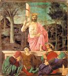 Uskrs, Piero della Francesca, Uskrsnuće Isusovo, Gradski muzej, Sansepolero