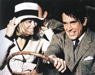 Warren BEATTY i Faye Dunaway u prizoru iz filma Bonnie i Clyde, 1967., redatelj: Arthur Penn
