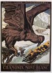 Olimpijske IGRE, plakat za prve zimske OI Chamonix, 1924., dizajn Auguste Matisse