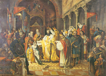 Zvonimir, rad Ferde Quiquereza, Krunidba kralja Zvonimira, 1878.